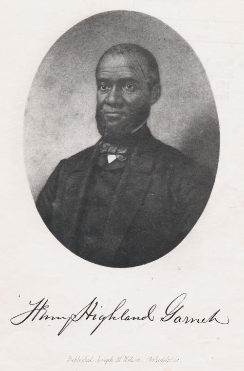 Still image of Henry Highland Garnett