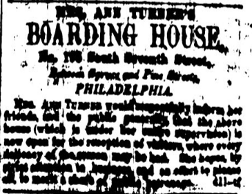 "Newspaper Scan of ""A Good Boarding House Greatly Needed."""