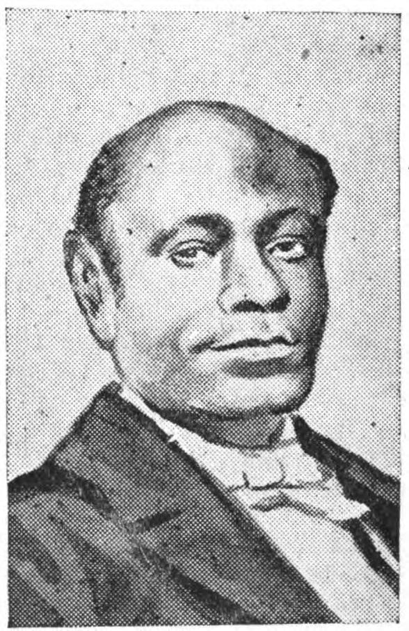 Black and white photo portrait of Rev. William Douglass