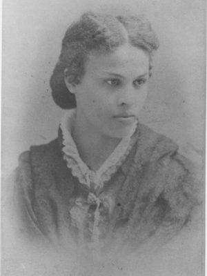 Black and white portrait of Dr. Sarah Loguen-Fraser.