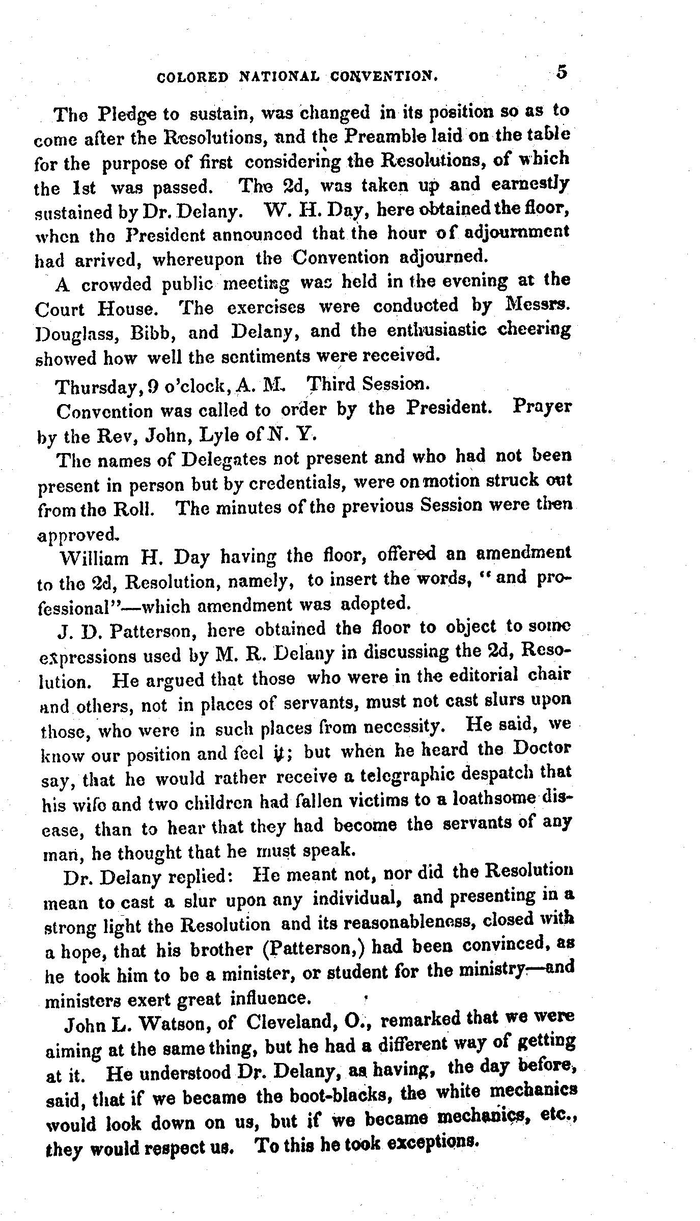 Scan of Excerpt from 1848 Ohio Proceedings