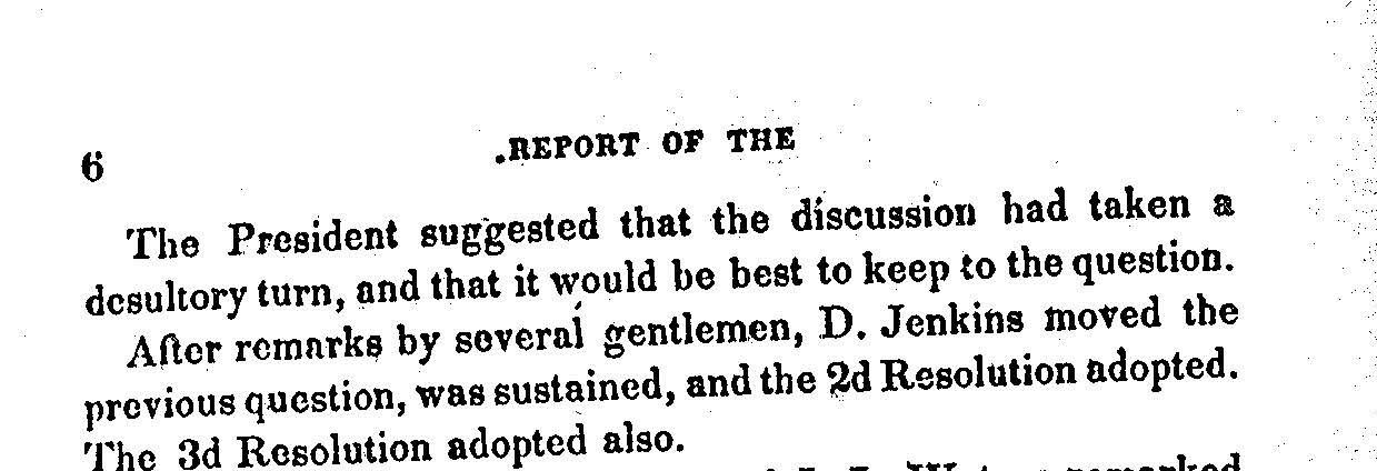 Excerpt from 1848 Ohio Proceedings