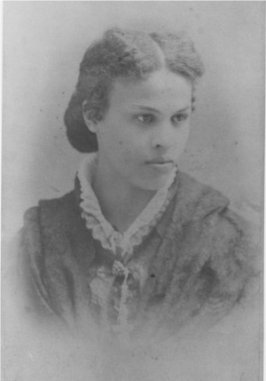 Black and white portrait of Dr. Sarah Loguen-Fraser.
