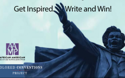Words of Influence Contest for Young Writers – Douglass Day 2019