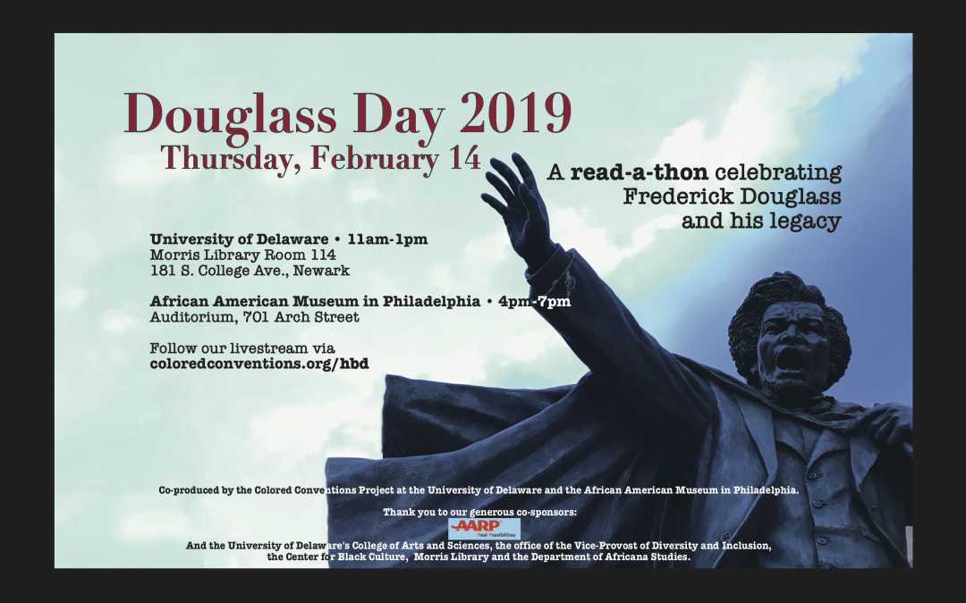 Douglass Day 2019 – Save the Date!