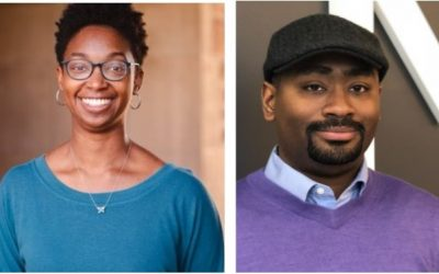 CCP Welcomes Two CLIR Fellows: Amani Morrison and Kevin Winstead